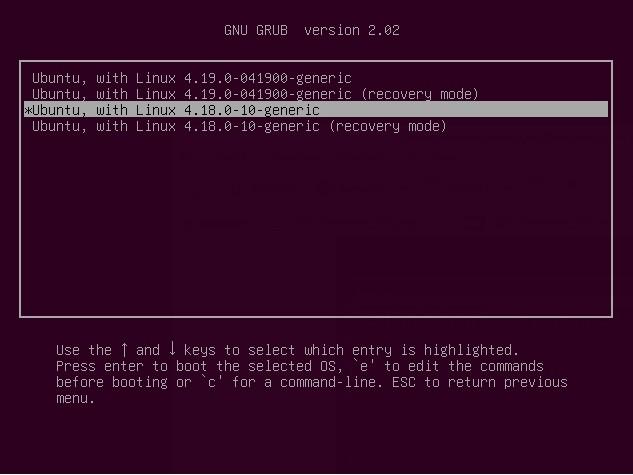 Ripristinare Kernel Precedente da GRUB Ubuntu 20.04 o Linux Mint 20
